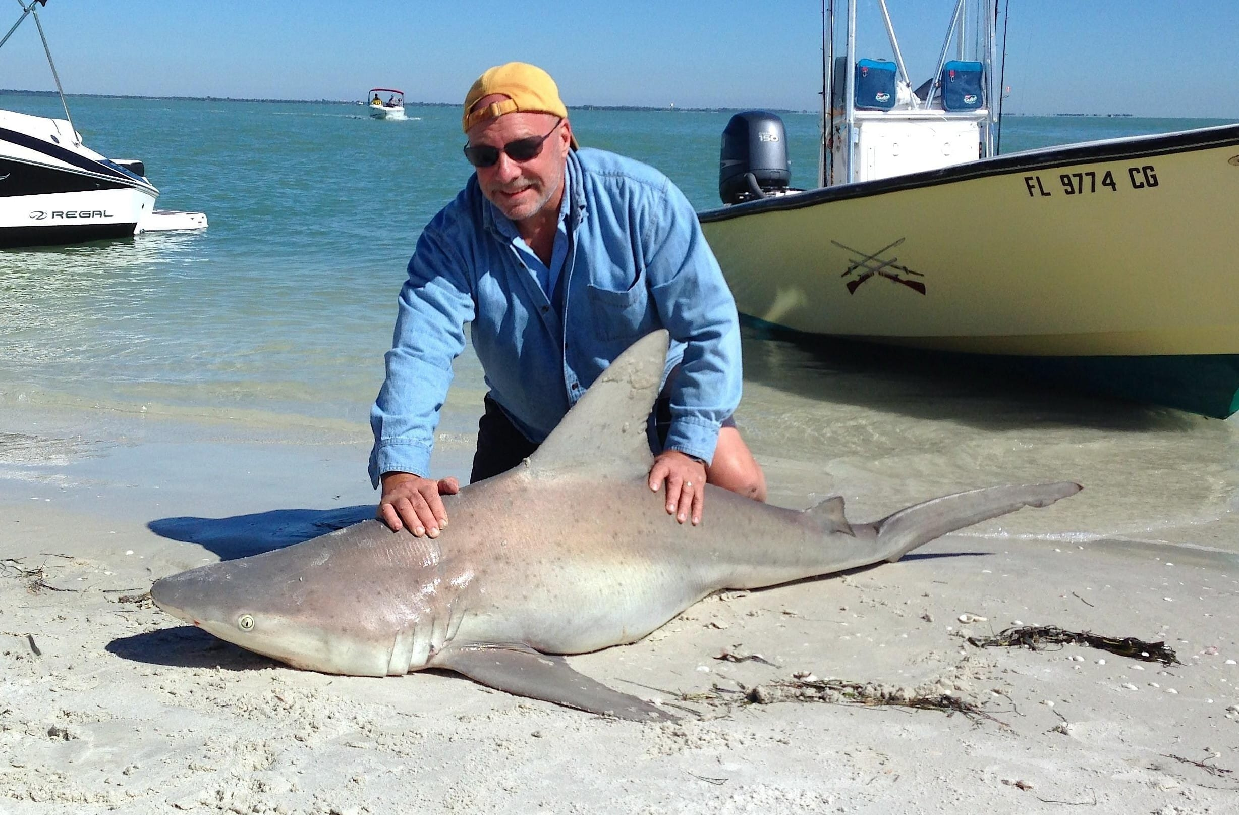 Saturday 3 8 14 captiva fishing report shark fishing for Sanibel island fishing charters