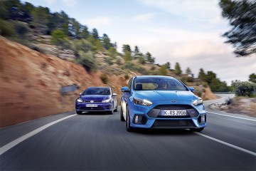 GOLF R VOLKSWAGEN FORD FOCUS RS