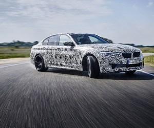 NEW BMW M5 Predrive COP