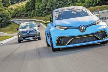 Renault ZOE e-Sport Concept - Circuit du Laquais, Lyon