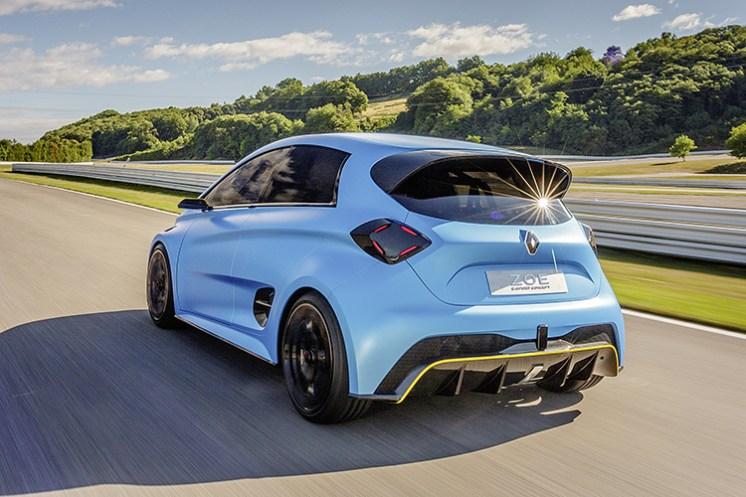 Renault ZOE e-Sport Concept - Circuit du Laquais, Lyon_back