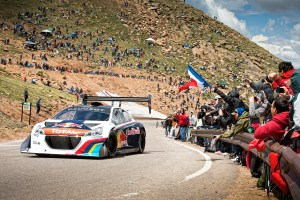 Sebastien Loeb performs at the Pikes Peak International Hill Climb at Pikes Peak in Colorado Springs, Colorado, USA on 30 June, 2013. // Garth Milan/Red Bull Content Pool // P-20130701-00577 // Usage for editorial use only // Please go to www.redbullcontentpool.com for further information. //