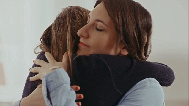 Friends Hugging (From Downy's Advertisement)
