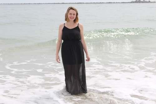 Long black dress cara lynn blog