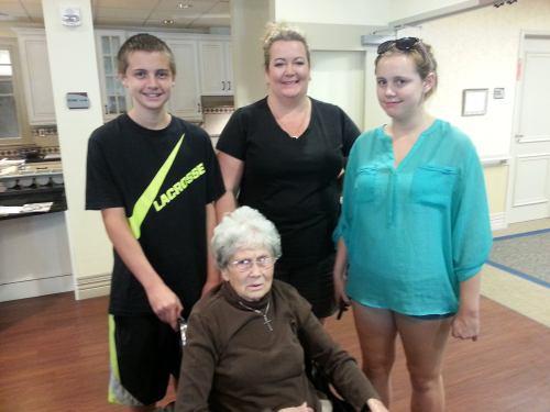 Tribute to grandma weaver