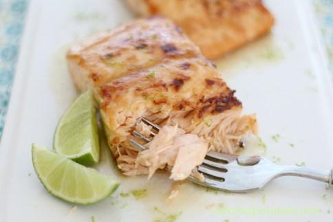 Honey Lime Glazed Salmon 103