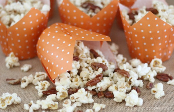Pecan Pie Popcorn 250