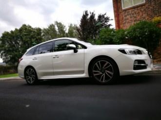 Subaru Levorg. Lateral.