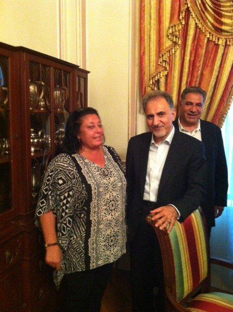 Rita-IranTourismMinister