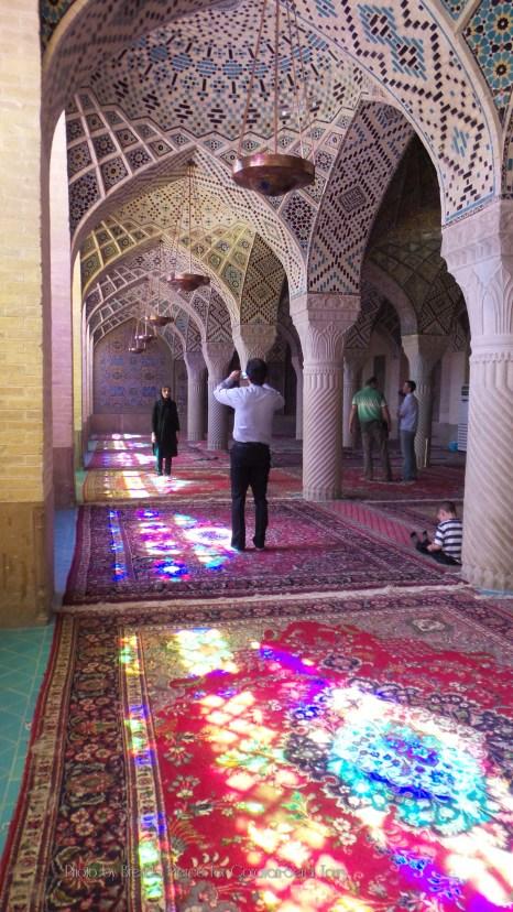 Nasir ol Molk mosque in Shiraz