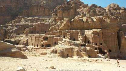 Dwellings in Petra