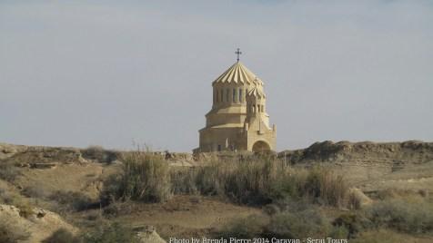 Armenian church at Bethany