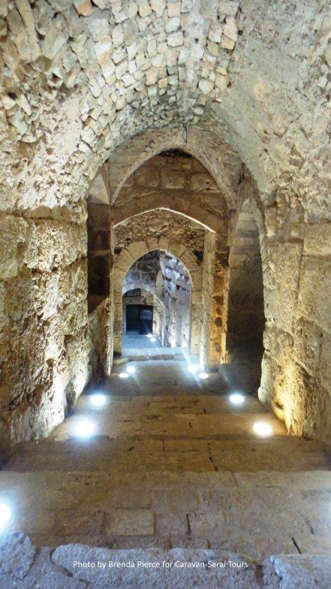 The halls of Ajlun