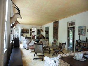 Inside Ernest Hemingway's house