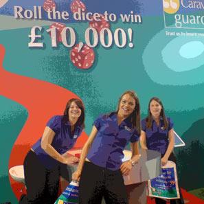 The Caravan Guard insurance girls