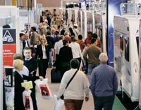 Visitors to the NEC show in February