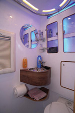 IH J220 motorhome washroom