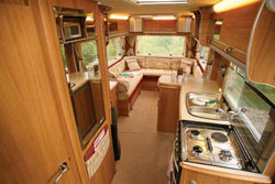 Looking back in the new Auto-Sleeper Berkshire