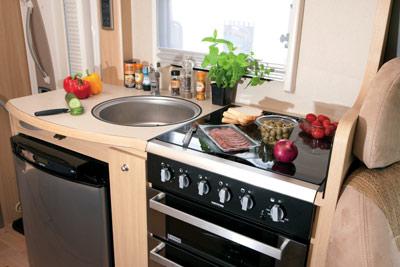 kitchen in the Bessacarr