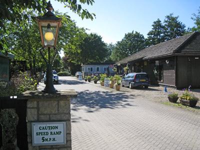 Entrance to Lincoln Farm Park