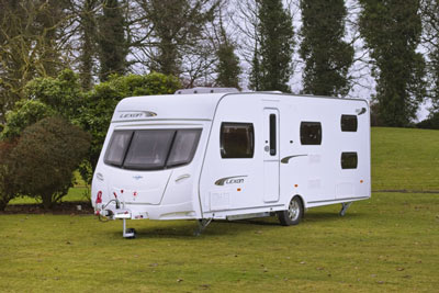 Lunar Lexon 550 touring caravan