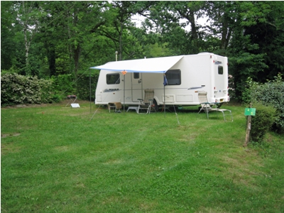 Bailey Pegasus on campsite
