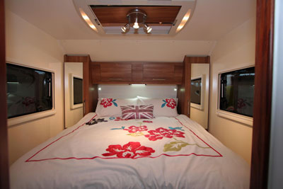 Double fixed bed in the INOS