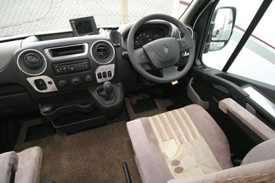 Bentley Donnington motorhome cab
