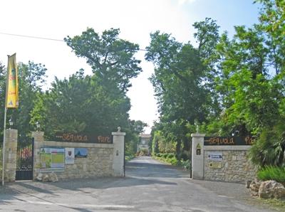 Parc entrance