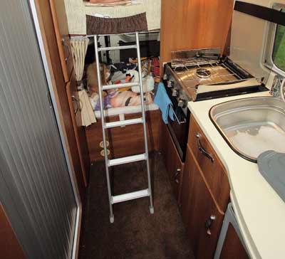 motorhome bunk beds