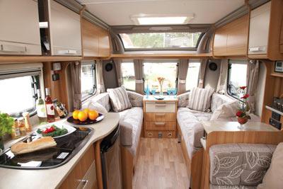 Coachman living area