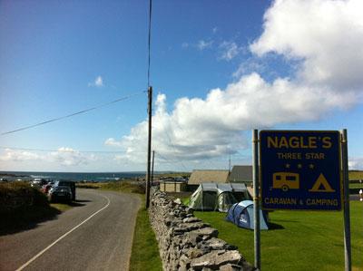 The Wilby's favourite caravan site