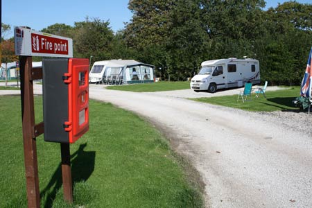 motorhome fire point