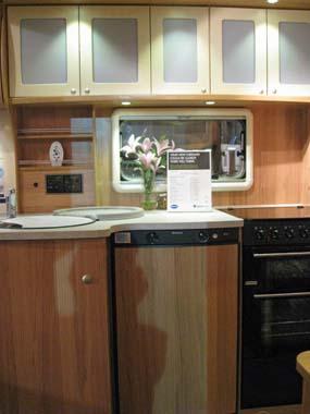 Bailey Pegasus GT65 Rimini Kitchen