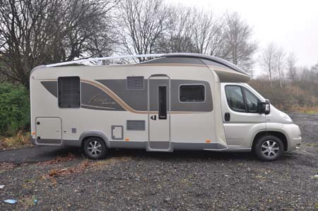 Bürstner Ixeo Plus it724 motorhome