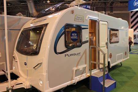 Bailey Pursuit Caravans Exterior of 430-4