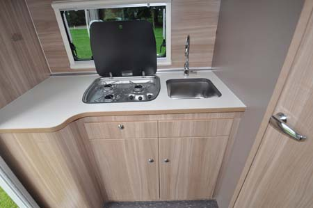Adria Matrix Axess kitchen