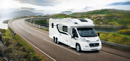 2014 Swift motorhomes Battery Powered Tracker Retrieve tracking device