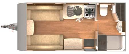 Lunar Lexon 470 Floor plan