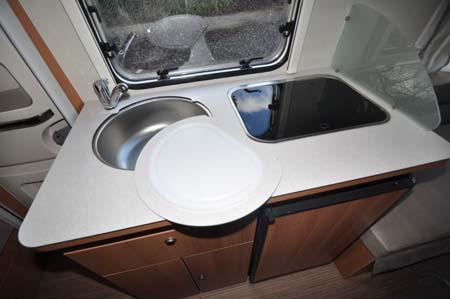 Eriba Touring 540GT - Kitchen