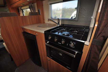 Marquis Lifestyle 664 motorhome kitchen