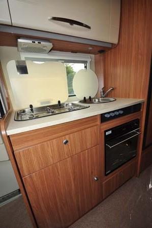 Carado T337 Motorhome Kitchen