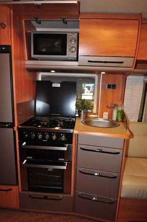 Hymer Nova 580 Kitchen