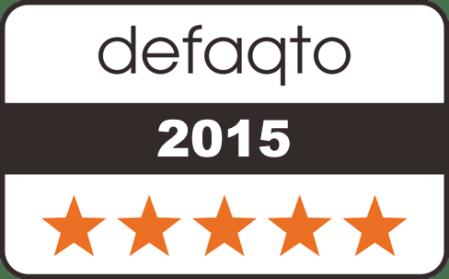 Caravan Guard caravan insurance rated 5 Star by Defaqto
