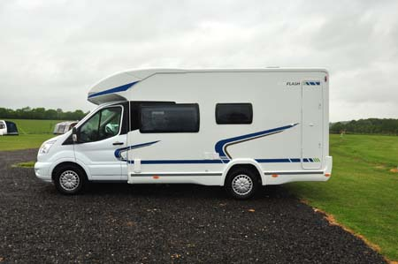 Chausson Flash 610 Exterior Side