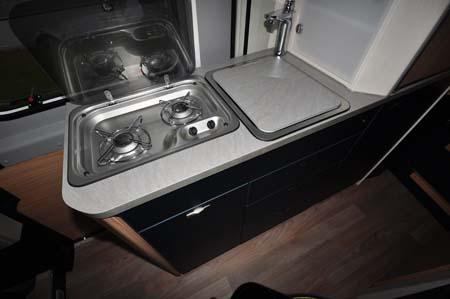 Knaus BoxLife 630 ME Kitchen
