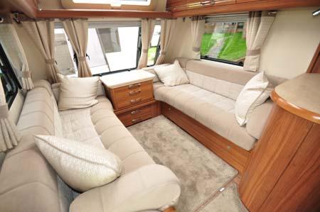Buccaneer Clipper Caravan Lounge