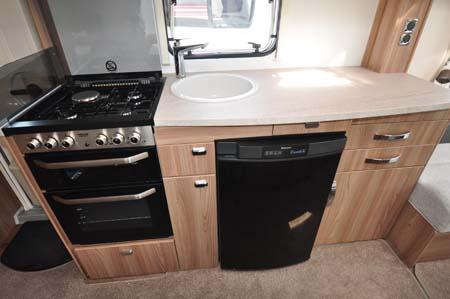Swift Challenger 530 Kitchen
