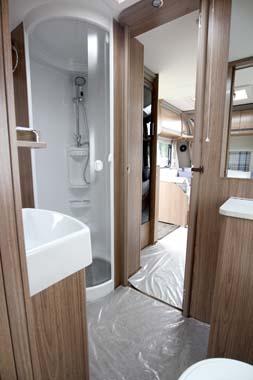 Coachman Laser 650 Washroom