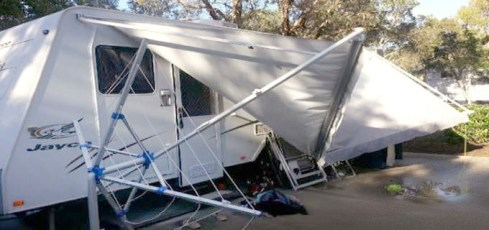 Unique Wowsers Its Been Windy Recently! Weve Received A Record Amount Of Caravan Insurance Claims For Wind Related Damage Over The Last Few Weeks, With Typical Claims Including Skylights Being Ripped Off, Branches Banging Into Caravans And